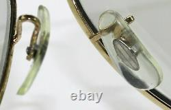 58mm Vintage B&L ray ban Gep Gris Changeables Wrap-Arounds AVIATOR Lunettes