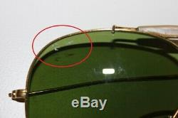 Ancienne paire de lunettes RAY-BAN Aviator Shooter Militaria US Vintage