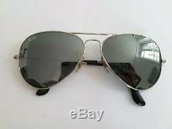 LUNETTE RAY BAN RB3025 AVIATOR L / SUN GLASSES RAY BAN RB3025 + etui OCCASION