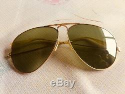 Lunette ray ban aviator verre vert d occassion