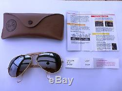 Lunette soleil RAY-BAN vintage aviator outdoors L 0227