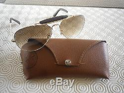 Lunettes RAY BAN Aviator, 3422 cuir