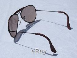 Lunettes de soleil RAY-BAN vintage Aviator Leathers