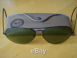 Lunettes solaires RAY BAN sunglasses BAUSCH & LOMB aviator vintage