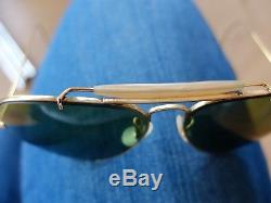 Lunettes solaires Ray Ban Aviator Outdoorsman Vintage 70s