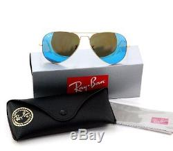 RAY BAN 3025 112/17 Lunettes de soleil Pilote Aviator forme goutte Taille 58 135