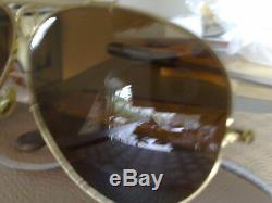 Ray Ban Bausch&Lomb Aviator Shooter USA vintage B15BL lenses excellent condition