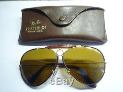 Ray Ban Leathers Aviator (Cuir) Vintage