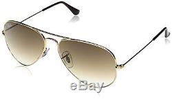 Ray-Ban Lunette de soleil 0RB3025-001/51 MOD. 3025 SOLE001/51 Aviator, Gold G
