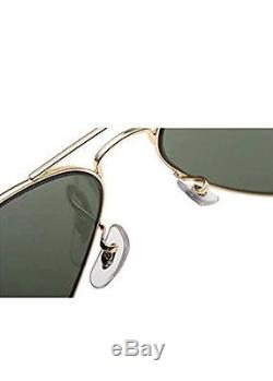 Ray-Ban Lunettes de Soleil Aviator Large Metal Or (L0205 Gold) 58 NEUF