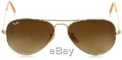 Ray Ban Lunettes de Soleil RB3025 Aviator Metal 55 mm