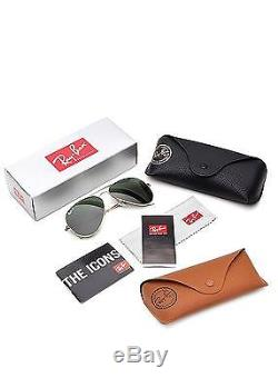 Ray Ban Lunettes de Soleil RB3025 Aviator Metal 58 mm