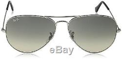 Ray Ban Lunettes de Soleil RB3025 Aviator Metal 62 mm