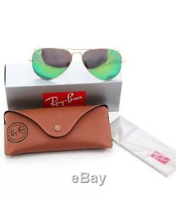 Ray Ban Lunettes de soleil 3025 112/19 Pilote Aviator forme goutte Taille 58 135
