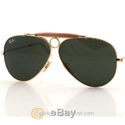 Ray Ban RB 3138 001 Shooter Aviator Gr. 58 Sonnenbrille by Eye-Net
