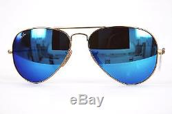 Ray Ban Sonnenbrille/Sunglasses AVIATOR LARGE METAL RB3025 112/17 55 #344