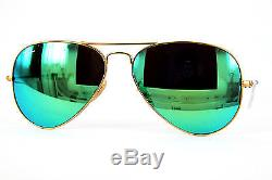 Ray-Ban Sonnenbrille/Sunglasses AVIATOR LARGE METAL RB3025 112/19 5814 3N #350