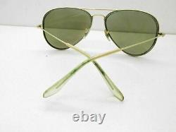 Ray-ban RB 3025 Grand Métal or Aviator Lunettes Cadres 58-14-130 11520