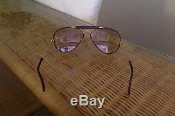 Solaire RAY BAN AVIATOR USA BAUSCH AND LOMB CUIR