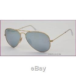 Sunglasses Ray-Ban AVIATOR large metal RB3025 112/W3 58 Polarized