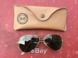 Vintage Lunettes De Soleil Ray Ban Aviator Sunglasses Bausch & Lomb