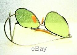 Vintage Pré Ray-Ban USA Aviator WWII Bausch & Lomb USAAF USN AN6531 Soleil