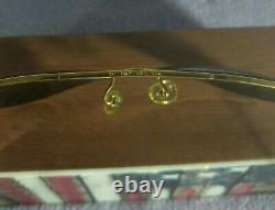 °Vintage sunglasses Ray-Ban B&L Aviator Cable temples 5814 G-15 80's TTBE